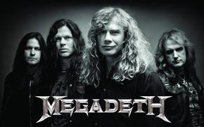 Картинка металл, metal, rock music, thrash metal, Megadeth, Drover, мегадес, Mustaine, Broderick, Ellefson, мегадетх, митол
