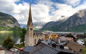 Обои Гмунден, Халльштатт, Гальштат, Hallstatt, Австрия