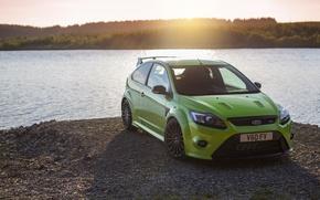Картинка green, Ford, water, focus