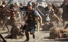 Картинка Fox, Gods, Men, and, Wallpaper, War, Kings, 20th, Year, Weapons, 20th Century Fox, Christian Bale, …