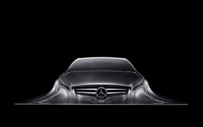 Обои Mercedes Benz, Sculpture, Design