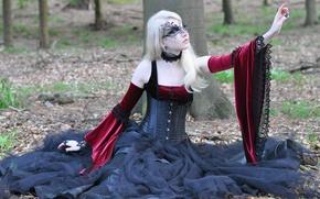 Картинка Maria Amanda, Stock, Medieval Gothic, Gothic Dress