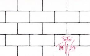 Обои cover, the wall, pink floyd