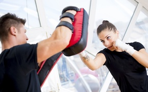 Картинка blow, boxing, personal trainer, training