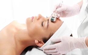 Обои mesotherapy, beauty treatments, woman