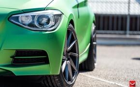 Картинка машина, авто, фара, BMW, БМВ, wheels, диски, auto, 2015, Vossen Wheels
