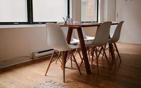Картинка стол, стулья, столовая