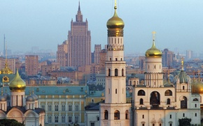 Картинка Собор, Москва, Высотка