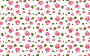 Картинка цветок, листья, цветы, фон, widescreen, обои, роза, текстура, wallpaper, rose, цветки, широкоформатные, background, розочки, полноэкранные, ...