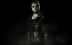 Картинка маска, куртка, jason, mortal kombat x, voorhins