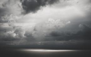 Картинка вода, свет, Небо, облака