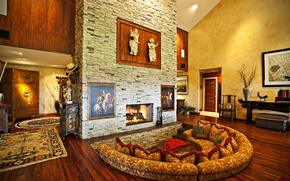 Обои Интерьер, стиль, номер, дом, современных