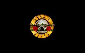 Картинка логотип, группа, logo, band, hard rock, хард рок, gnr, guns 'n roses