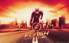 Картинка Флэш, The Flash, Grant Gustin, Грант Гастин, Barry Allen, Барри Аллен