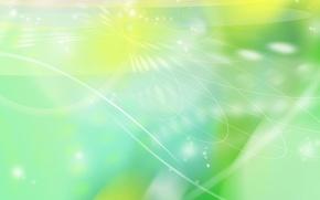 Картинка узор, зеленый, линии