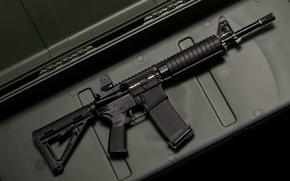 Картинка gun, automatic, military, assault rifle, Land Warfare Ressources Coorporation, LWRC M6, carbine