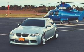 Картинка E90, BMW M3 E90, bmw m3 sedan