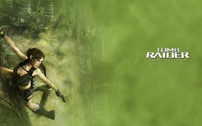 Картинка взгляд, девушка, игры, луна, Tomb Raider, Lara Croft