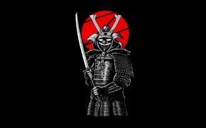 Обои стиль, меч, воин, самураи