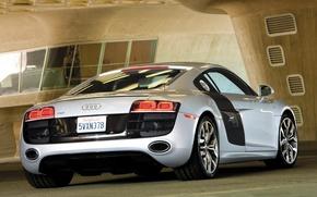 Обои Audi R8, авто, серая