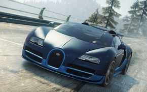 Картинка Bugatti, Veyron, 2012, Need for Speed, nfs, Grand Sport, Most Wanted, нфс, NFSMW