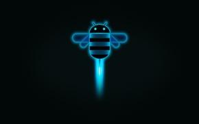Обои Google, android, HoneyComb