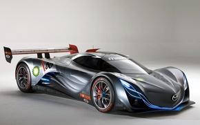 Картинка Mazda, спорткар, крупным планом