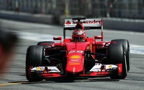 Картинка Ferrari, Formula 1, Spain, 2015, Tests, SF15T, Raffaele Marciello