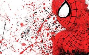 Картинка брызги, граффити, Человек-паук, высокое напряжение