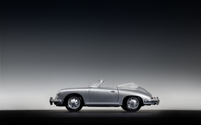 Картинка серый, игрушки, Porsche 356B