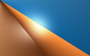 Картинка оранжевый, синий, градиент, blue, orange, gradient
