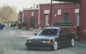 Картинка BMW, Бумер, БМВ, Stance, E38, Bimmer, 750il