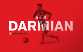 Картинка football, manchester united, matteo darmian