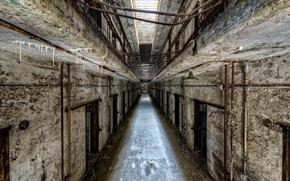 Картинка интерьер, камеры, тюрьма