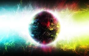 Картинка свет, пространство, вселенная, звезда