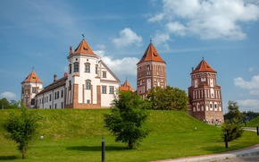 Картинка Мир, Беларусь, Мирский замок