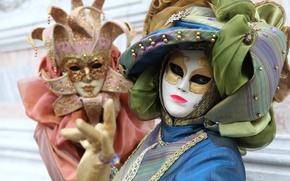 Картинка маска, костюм, Венеция, ткань, карнавал