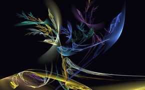 Обои цвет, форма, абстракция