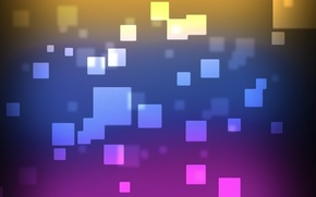 Картинка Purple, Color, Texture, Squares, Colorful Background