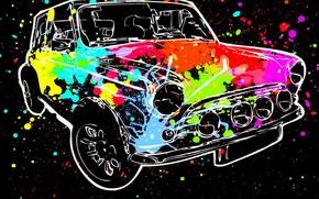 Картинка машина, авто, краска, цвет