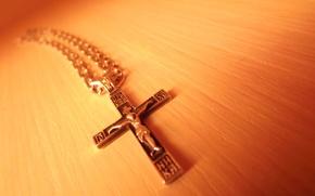 Картинка макро, крест, распятие, вера