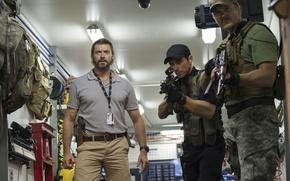Картинка оружие, Hugh Jackman, Хью Джекман, бойцы, Chappie, Робот по имени Чаппи