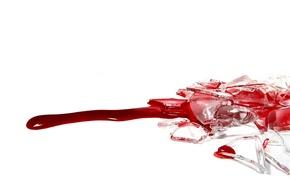 Обои blood, белое, кровь, красное