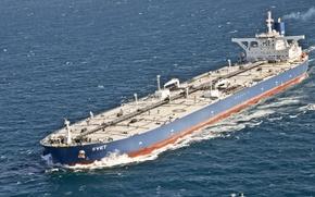 Картинка море, танкер, нефть, SCF, СКФ
