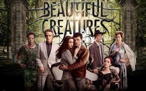 Картинка фильм, Emmy Rossum, Alice Englert, Beautiful Creatures, прекрасные создания, Элис Энглерт, Эмми Россам