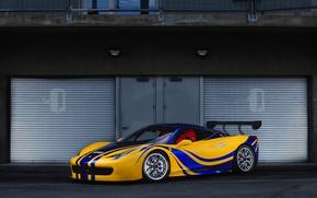 Картинка Ferrari, 458, Challenge, N512