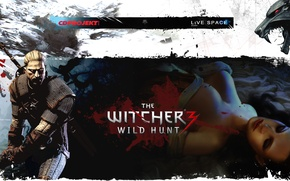 Картинка The Witcher 3, LiVE SPACE studio, CD PROJECT RED