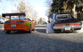 Обои форсаж, The Fast And The Furiour, тачки, Toyota Supra, гонка