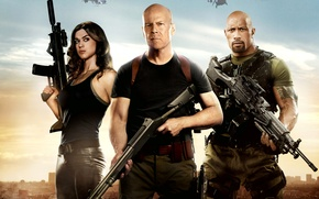 Обои G.I. Joe: Retaliation, G.I. Joe: Бросок кобры 2, Adrianne Palicki, Эдрианн Палики, Joe Colton, Dwayne ...