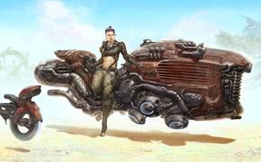 Картинка Star Wars, Звёздные войны, фан-арт, J Serna, Diesel Punk Rey